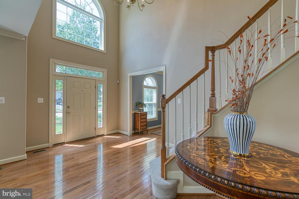 Two Story Light Filled Foyer w/ Palladium Window - 6 MOUNT ARARAT LN, STAFFORD