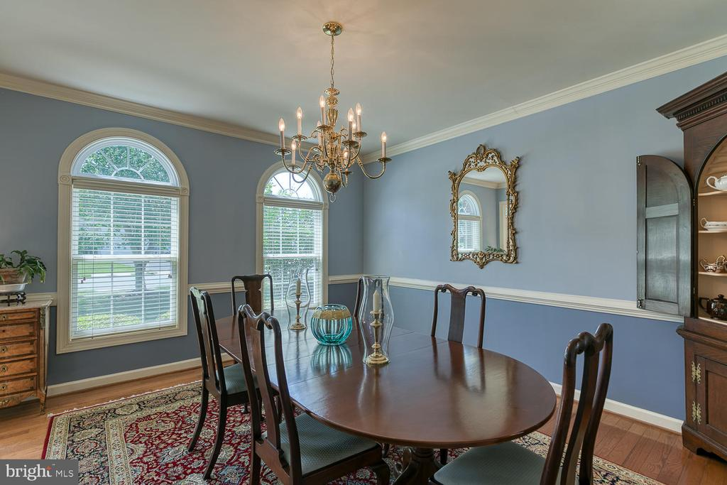 Large Dining Room for Entertaining - 6 MOUNT ARARAT LN, STAFFORD