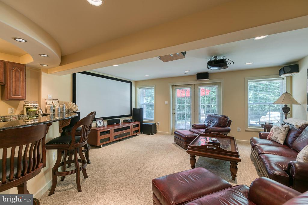 Theater Room - 6 MOUNT ARARAT LN, STAFFORD