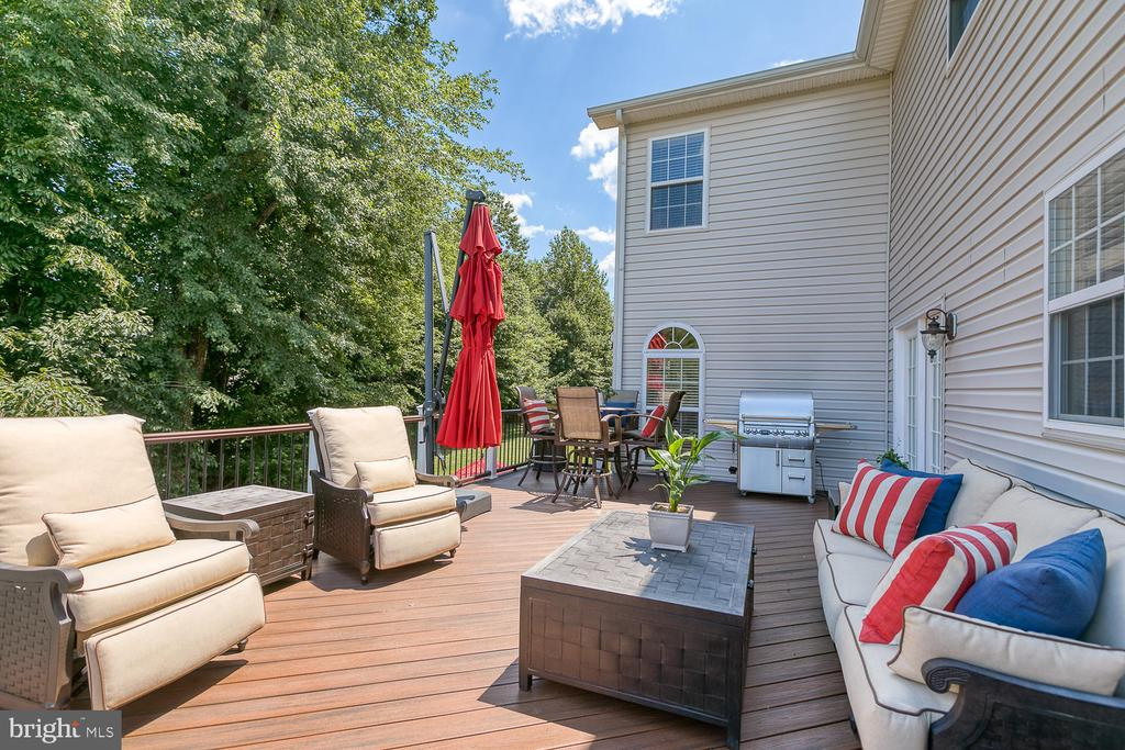 Beautiful Composite Deck - 6 MOUNT ARARAT LN, STAFFORD