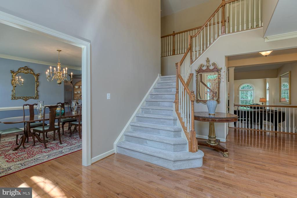 Grand Foyer with Cascading Stairwell - 6 MOUNT ARARAT LN, STAFFORD