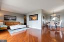Open floorplan - 200 N PICKETT ST #907, ALEXANDRIA