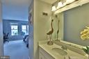 Master bedroom has a separate makeup counter - 11276 SILENTWOOD LN, RESTON