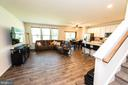 Family Room off the Kitchen with LTV Flooring - 4 WELLSPRING DR, FREDERICKSBURG