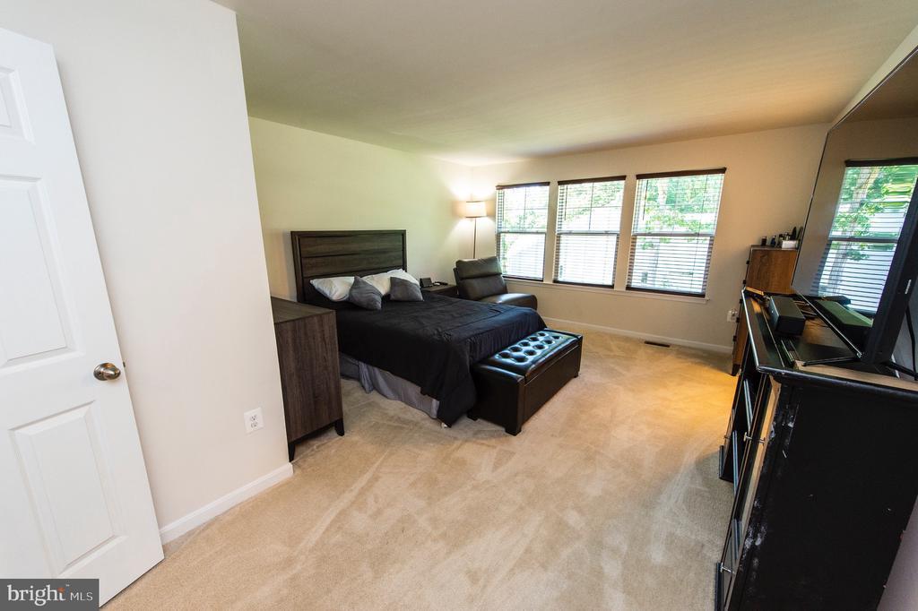 Master Bedroom with Sitting area - 4 WELLSPRING DR, FREDERICKSBURG