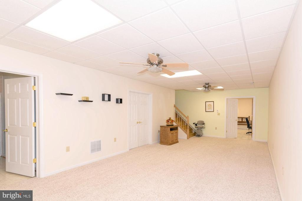 FAMILY ROOM. BASEMENT - 390 NANSFIELD DR, HARPERS FERRY