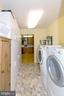 LAUNDRY ROOM WITH CABINETS. - 390 NANSFIELD DR, HARPERS FERRY
