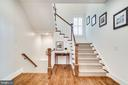 Staircase to upper level - 8720 PLYMOUTH RD, ALEXANDRIA