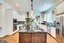 Large island with second sink - 8720 PLYMOUTH RD, ALEXANDRIA
