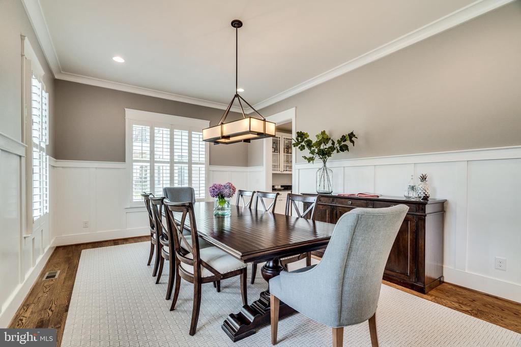 Dining Room - 8720 PLYMOUTH RD, ALEXANDRIA