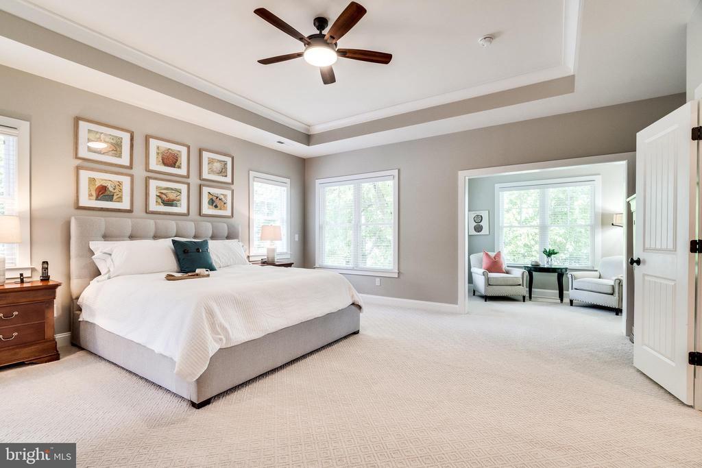 Master bedroom - 8720 PLYMOUTH RD, ALEXANDRIA