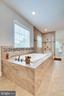 Master bath w/ tub & oversized shower - 8720 PLYMOUTH RD, ALEXANDRIA