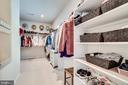 Master closet #1 - 8720 PLYMOUTH RD, ALEXANDRIA