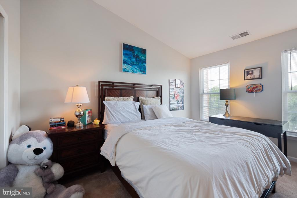 2nd Bedroom w/ Vaulted Ceiling - 42919 SHELBOURNE SQ, CHANTILLY