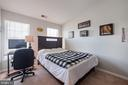 3rd Bedroom w/ Vaulted Ceiling - 42919 SHELBOURNE SQ, CHANTILLY