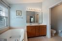 Master Bath - 42919 SHELBOURNE SQ, CHANTILLY
