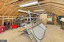 UPPER LEVEL OF WORKSHOP - 11800 LAKEWOOD LN, FAIRFAX STATION