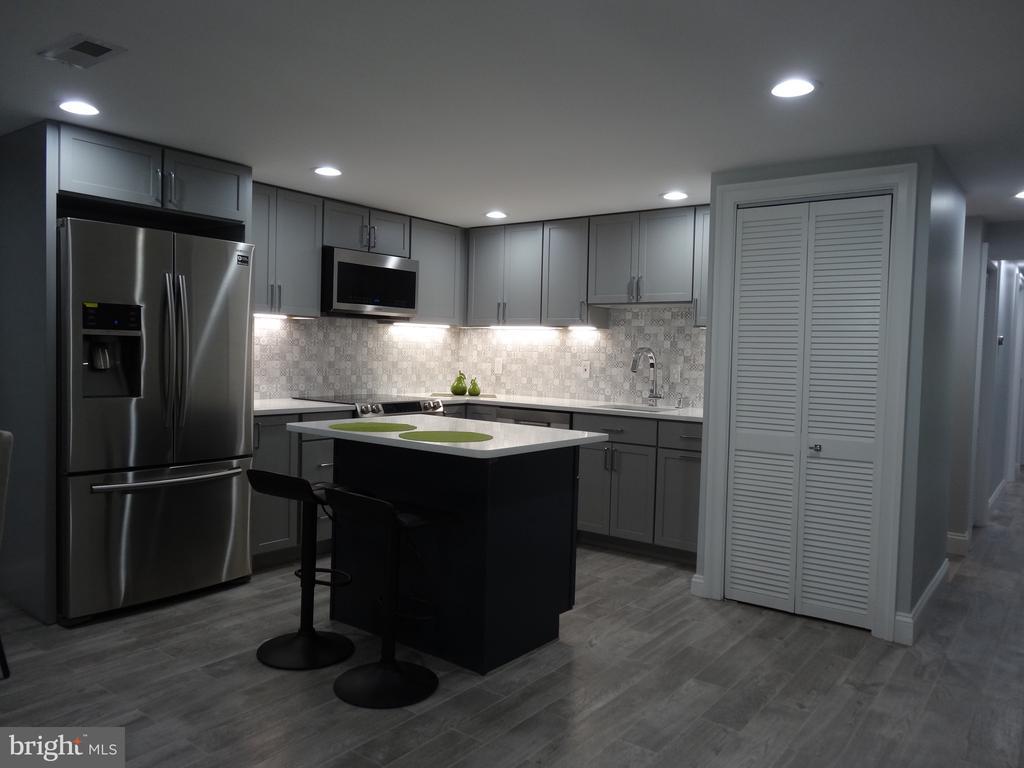Basement kitchen - 50 BRYANT ST NW, WASHINGTON