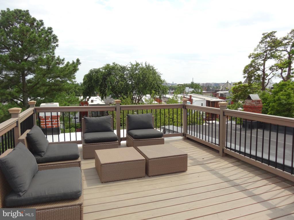 Roof deck - 50 BRYANT ST NW, WASHINGTON