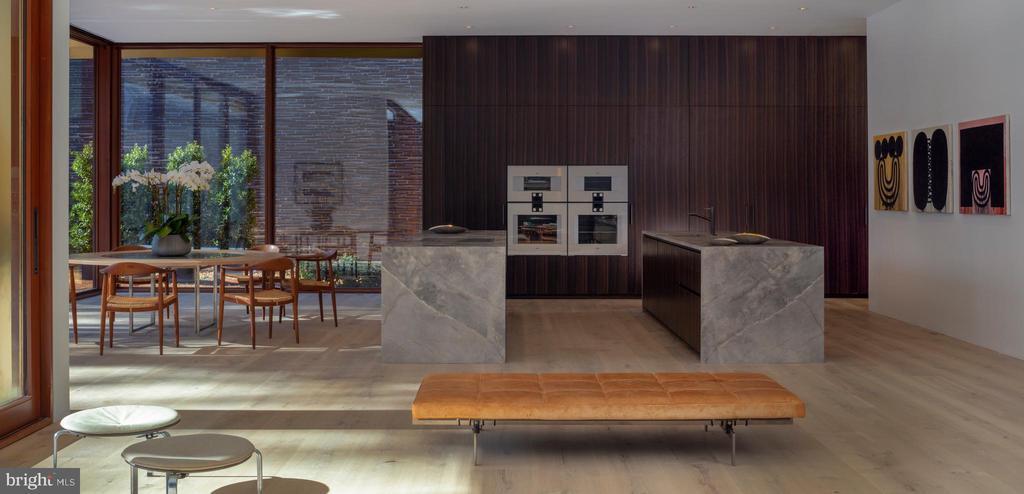 Dual Island Kitchen/Breakfast Room - 3131 CHAIN BRIDGE RD NW, WASHINGTON