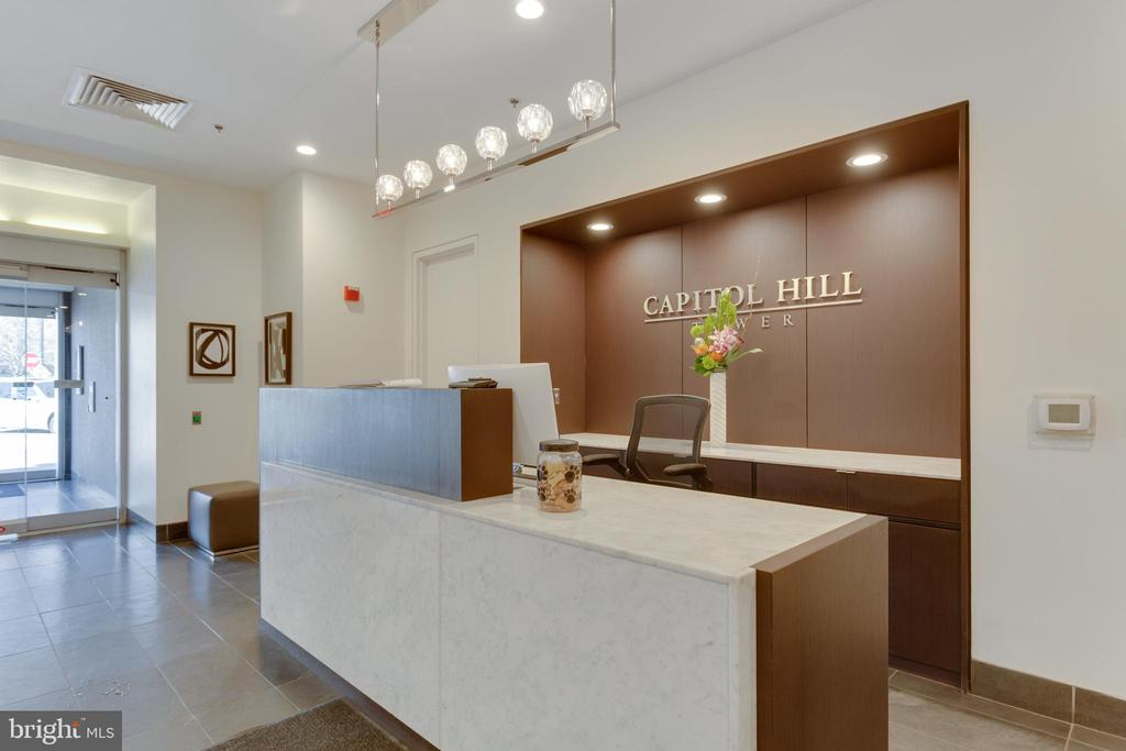 Front Reception area - 1000 NEW JERSEY AVE SE #202, WASHINGTON