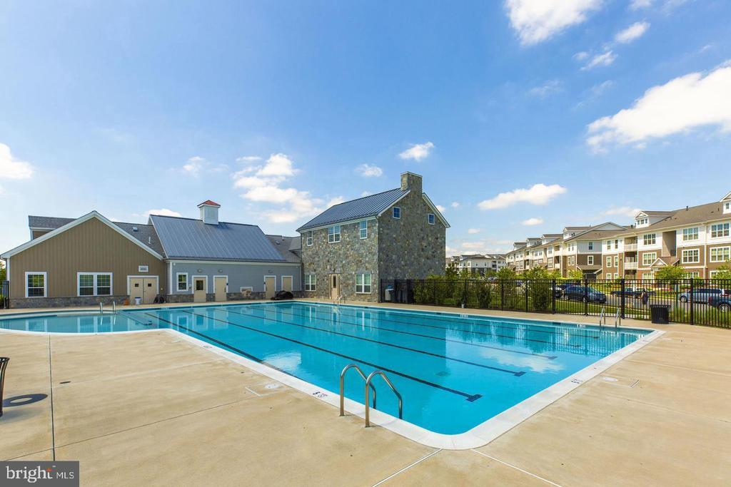 Community Center w/ its Swimming Pool - 42630 HARLOW MEADOWS TER, DULLES