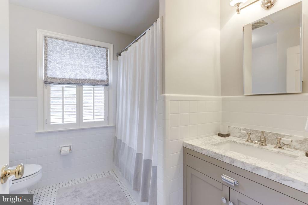 Renovated Hall Bath (#2) in Waterworks - 5212 UPTON TER NW, WASHINGTON