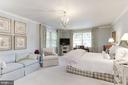 Master Bedroom with Sitting Area - 5212 UPTON TER NW, WASHINGTON