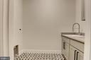 Laundry room on bedroom level - 8609 SEVEN LOCKS RD, BETHESDA