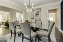 Another perspective of the dining room - 8609 SEVEN LOCKS RD, BETHESDA