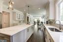 Kitchen perspective - 8609 SEVEN LOCKS RD, BETHESDA