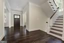 Staircase is filled with light - 8609 SEVEN LOCKS RD, BETHESDA