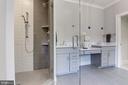 Owner's shower - 8609 SEVEN LOCKS RD, BETHESDA
