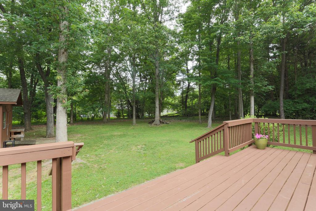 Deck!  Fresh  brand new floor boards! - 3927 LAKEVIEW PKWY, LOCUST GROVE
