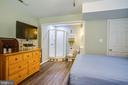 Bedroom #4 w/full bath attached - 120 CASCADE LN, FREDERICKSBURG