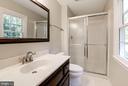 Master bathroom - 3224 WILDMERE PL, HERNDON