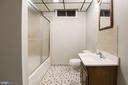 Lower level full bath - 3224 WILDMERE PL, HERNDON