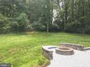 Firepit and huge backyard - 6641 KERNS RD, FALLS CHURCH