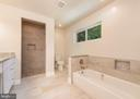 Bathroom with tub and shower - 10968 EIGHT BELLS LN, COLUMBIA
