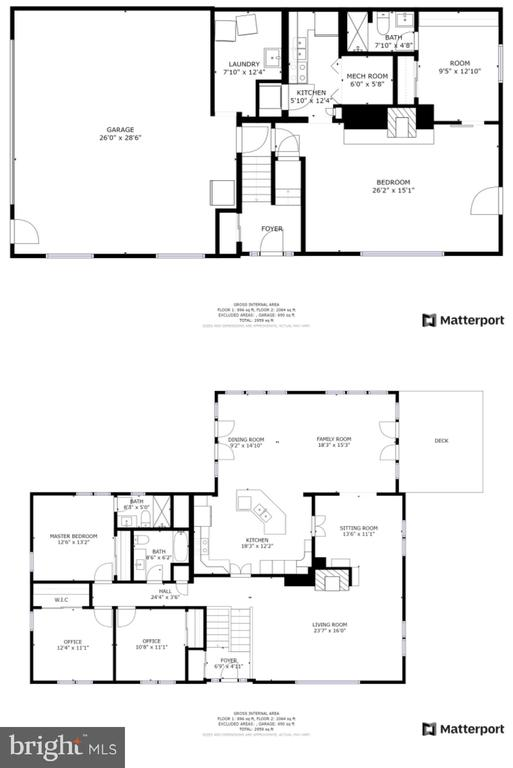 floor plan - 2718 FOX MILL RD, OAK HILL