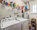 Full size laundry room so convenient - 20660 HOPE SPRING TER #407, ASHBURN