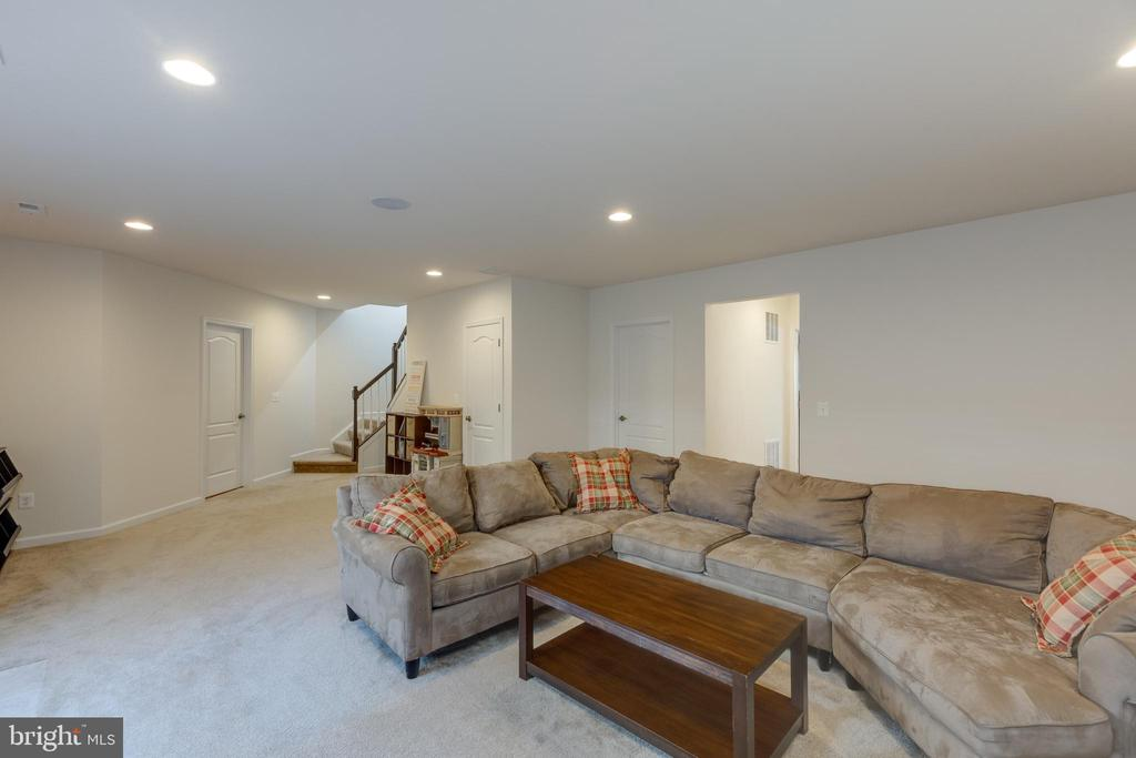 Basement rec room - 40594 SCULPIN CT, ALDIE