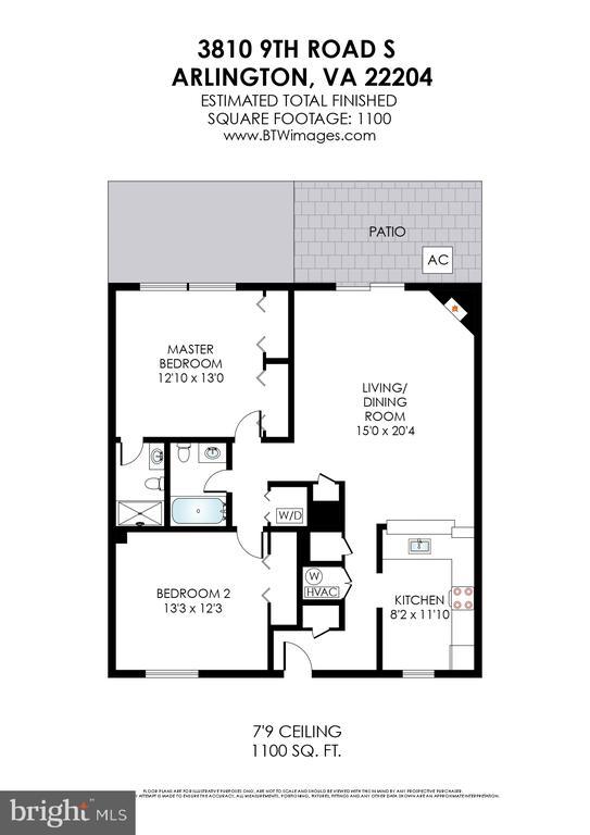 Floorplan - 3810 9TH RD S, ARLINGTON