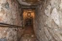 Stairway to Wine Cellar - 13032 HIGHLAND RD, HIGHLAND