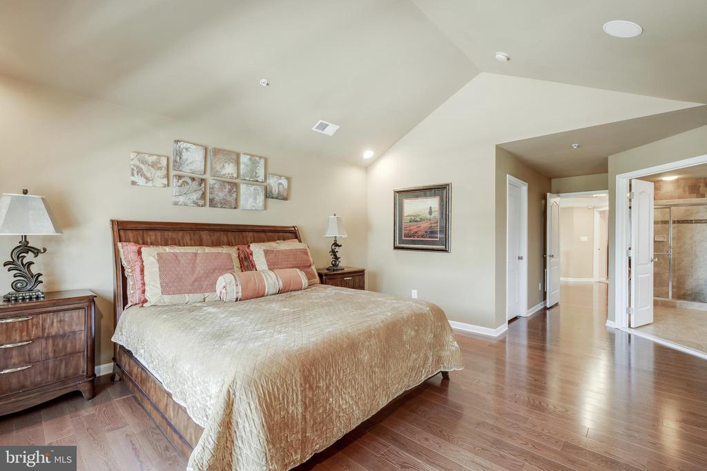 Master Bedroom w/ Cathedral Ceiling - 42355 EQUALITY ST, CHANTILLY