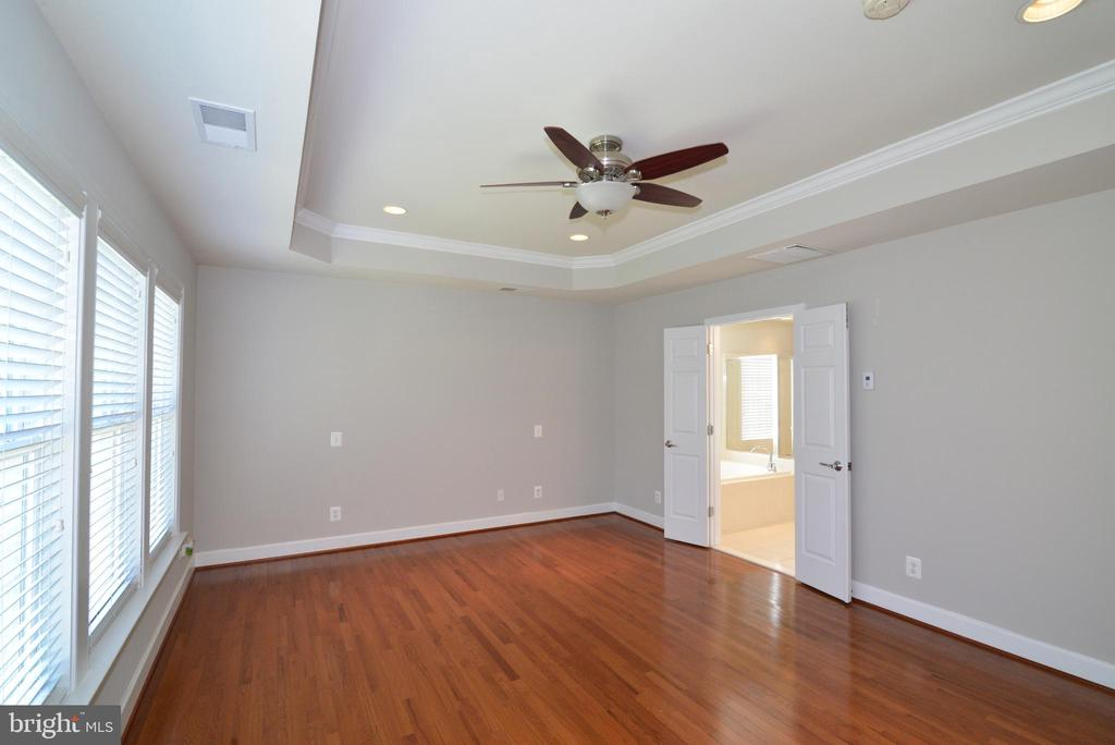 The tray ceiling in your master adds drama - 42814 RAVENGLASS DR, ASHBURN