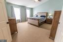 Master bedroom - 144 PEBBLE BEACH DR, CHARLES TOWN