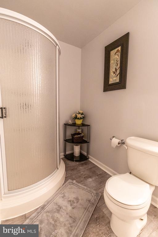 Full bath in basement - 144 PEBBLE BEACH DR, CHARLES TOWN