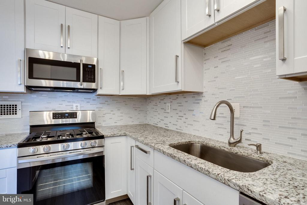 New Stainless steel appliances - 2939 VAN NESS ST NW #1017, WASHINGTON