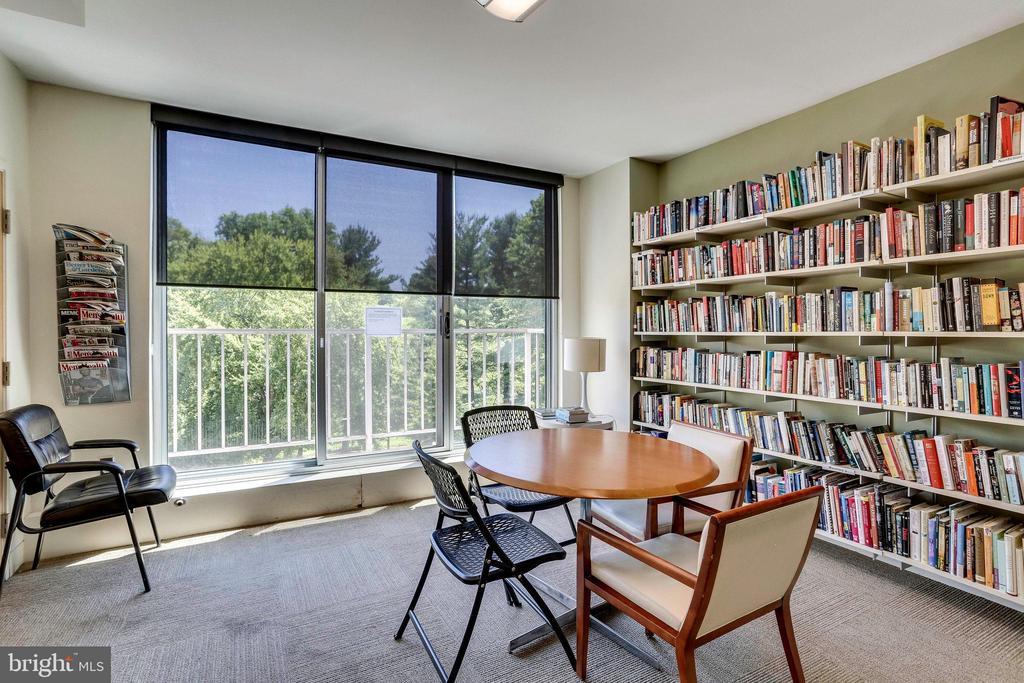 Library - 2939 VAN NESS ST NW #1017, WASHINGTON